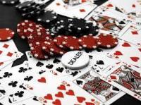 bouton dealer cartes et jetons